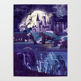 The Castle on the Hill Poster