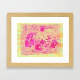 Lemon Sherbert Framed Art Print