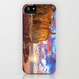 lighthouse landscape iPhone Case