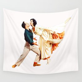 Gene Kelly and Cyd Charisse - Brigadoon Wall Tapestry