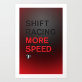 More Speed Art Print