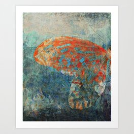 Moths 4 Art Print