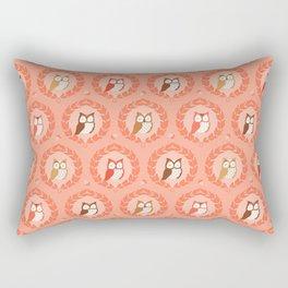 Sweet Owlies - Dawn Rectangular Pillow