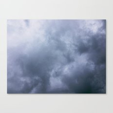 Moody Clouds Canvas Print