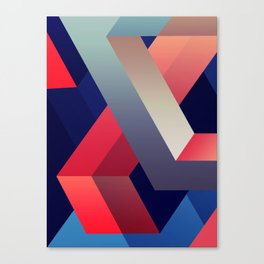 geometric abstract II Canvas Print