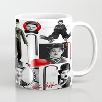 charlie Mugs featuring CHARLIE by BLUE VELVET DESIGNS