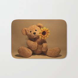A flower for you Bath Mat