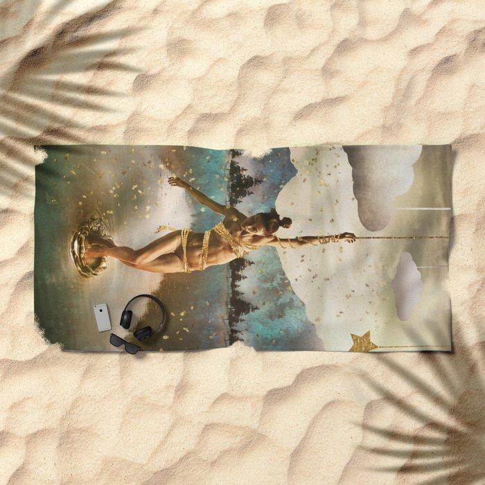 Tread Lightly Beach Towel