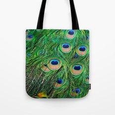Peacock Passion Tote Bag