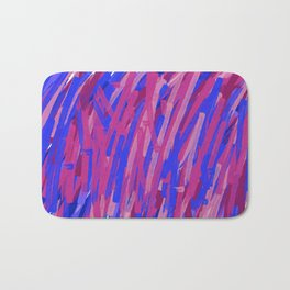 abstraction acrylic 4 Bath Mat