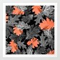 Fall Leaves - Orange by darcyhancock