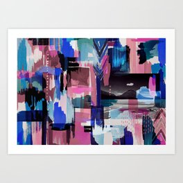 News from Uyuni_01 Art Print