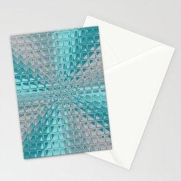 Aqua Reflections Stationery Cards