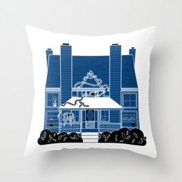 La Casa Azul Throw Pillow