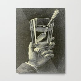 The phenomena of physics - Amédée Guillemin - 1868 Black & White Metal Print