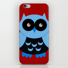 Vintage Vector Smart Owl iPhone Skin