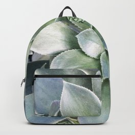 Succulent Photography | Nature | Green Cactus | Floral | Art Print Backpack