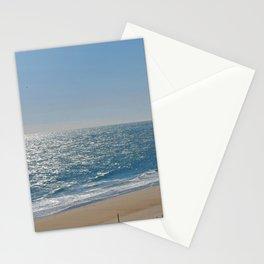 Ocean Solitude, Atlantic Ocean, Morning Beach, Stationery Cards