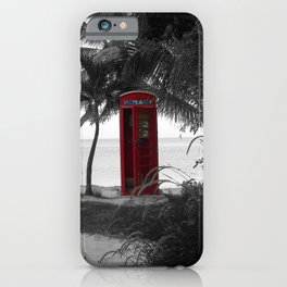 Why Do You Stay Here? iPhone Case