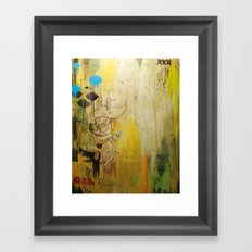 Hasenfusz / Rabbitfoot Framed Art Print