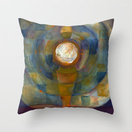 The Moon Within Me Throw Pillow