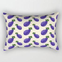 Falling Brinjals Rectangular Pillow