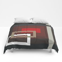Abstract Composition 660 Comforters