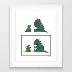 Peekaboo Framed Art Print