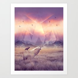 In Search of Solace Art Print