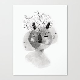 Triade No.1 Canvas Print
