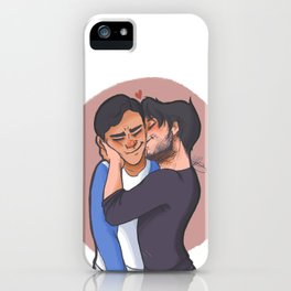 Connor and Oliver iPhone Case