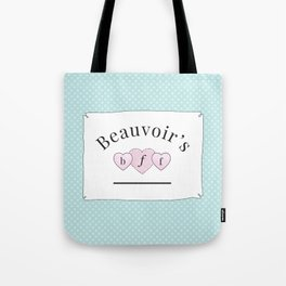 Beauvoir's B.F.F. Tote Bag