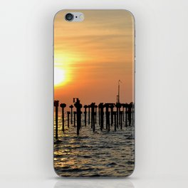 Rustic Sunset iPhone Skin