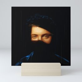SPARKLING EYES Mini Art Print