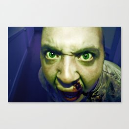 attack of the zombies Canvas Print