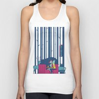 50s Tank Tops featuring Diner by Ale Giorgini