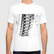 film Mens Fitted Tee White MEDIUM