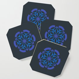 Stealthy sense   Abstract sacred geometry   Aliens crop circle Coaster