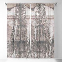 chandelier Sheer Curtain