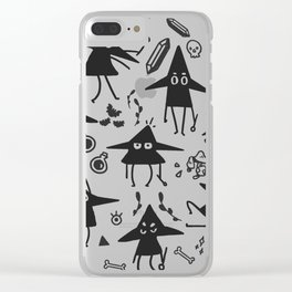 Magical Little Witches Clear iPhone Case