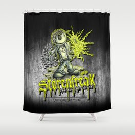 Störenfreak Shower Curtain