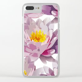 Seamless Repeating Tiling Clear iPhone Case