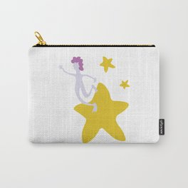 Reach for the Stars - Yellow Carry-All Pouch