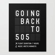 505 Canvas Print