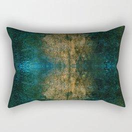 Iron Oxide Dragonfly Rectangular Pillow