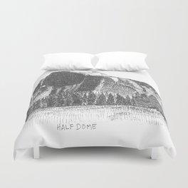 Hangin at Half Dome Duvet Cover