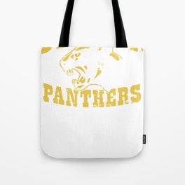 Dillon Panthers Tote Bag