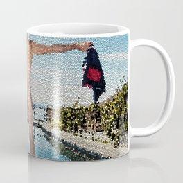 Summer Freedom Tiled Coffee Mug