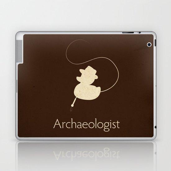 Archaeologist Laptop & iPad Skin