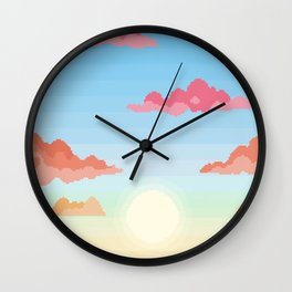 Changing Skies Wall Clock